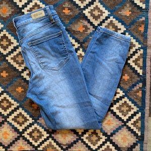 Cello Crop High Rise Jeans